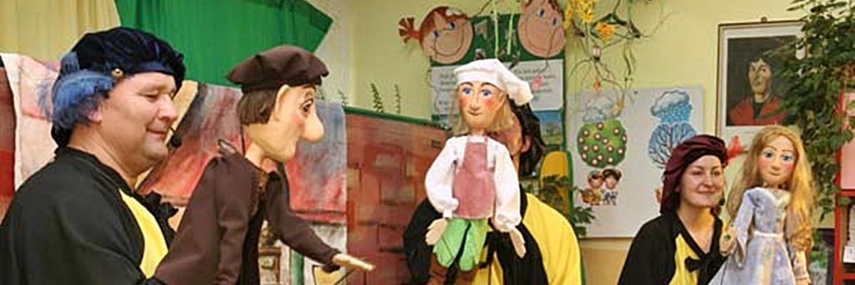 Objazdowy teatr do przedszkoli